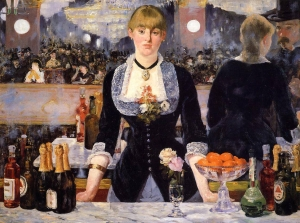 Manet-a-bar-at-the-foliesbergre-1882